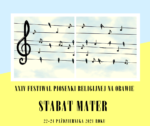 "Festiwal Piosenki Religijnej na Orawie ""Stabat Mater"""